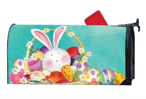 Easter Basket Mailbox Cover | Decorative Mailwraps | Garden House Flags