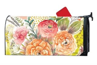 Fresh Flowers Mailbox Cover | Decorative Mailwraps | Mailbox Covers