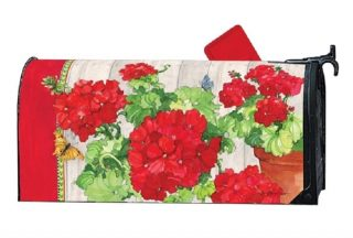 Ladies in Red Mailbox Cover | Decorative Mailwraps | Mailbox Covers
