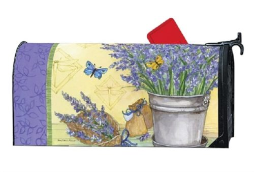 Lavender Mailbox Cover | Decorative Mailwraps | Garden House Flags