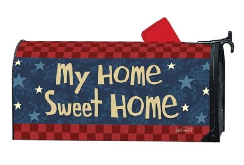 American Barn Mailbox Cover | Decorative MailWrap | Garden House Flag