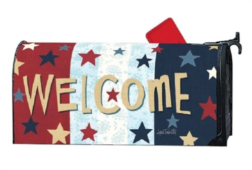 Liberty Flags Mailbox Cover | Decorative Mailwraps | Garden House Flags