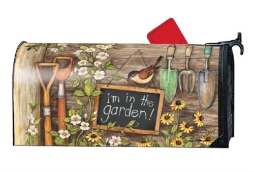 Garden Shed Mailbox Cover | Decorative Mailwraps | Garden House Flags
