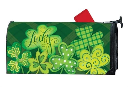 Lucky Mailbox Cover | Mailwraps | Mailbox Covers | Garden House Flags