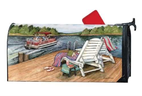 Lake Weekend Mailbox Cover | Mailwraps | Garden House Flags