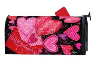 Sending Love Mailbox Cover | Decorative Mailwraps | Mailbox Covers