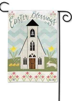 Easter Service Garden Flag | Easter Flags | Cool Flags | Decorative Flags
