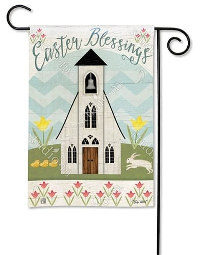 Easter Service Garden Flag | Easter Flags | Decorative Flags | Garden House Flags