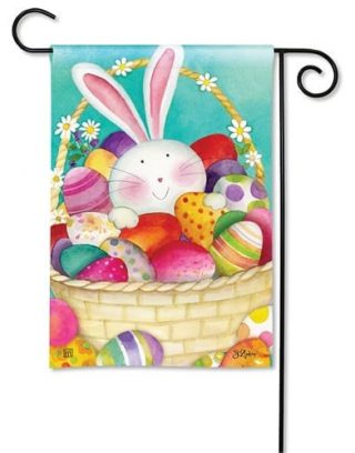 Easter Basket Garden Flag | Easter Flags | Holiday Flags | Cool Flags