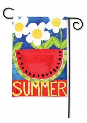 Summer Watermelon Garden Flag | Summer Flag | Floral Flags | Yard Flag