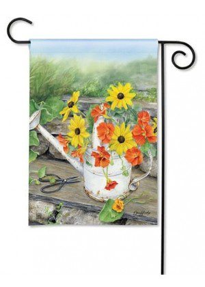 Sunshine and Water Garden Flag | Floral Flags | Summer Flags | Yard Flag