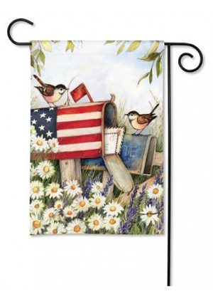 Patriotic Mailbox Garden Flag | Patriotic Flags | 4th of July Flag | Cool Flag