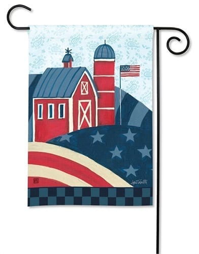 American Barn Flag | Decorative Flag | Garden Flag | Garden House Flags