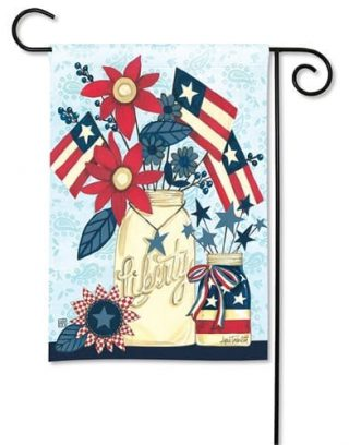 Liberty Flags Garden Flag | Patriotic Flags | 4th of July Flags | Yard Flags