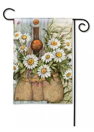 Fresh Picked Daisies Garden Flag | Floral Flags | Spring Flags | Cool Flags