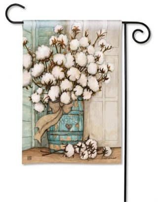 Cotton Bolls Flag | Decorative Flags | Garden Flags | Garden House Flags