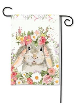 Hello Bunny Flag | Garden Flags | Decorative Flags | Garden House Flags