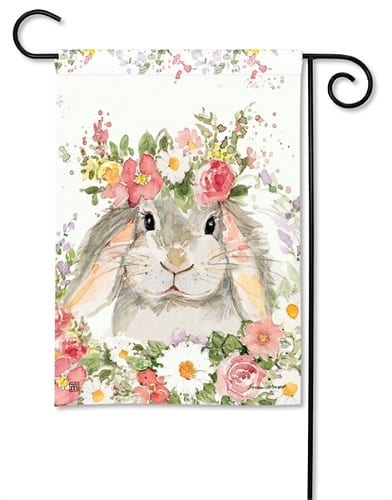 Hello Bunny Garden Flag | Garden Flags | Decorative Flags | Garden House Flags