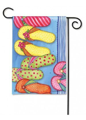Favorite Flip Flops Garden Flag | Summer Flags | Beach Flags | Cool Flags