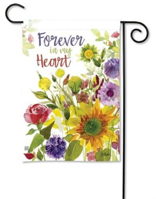 Forever Flowers Garden Flag | Valentine's Day Flags | Floral Flags | Flag