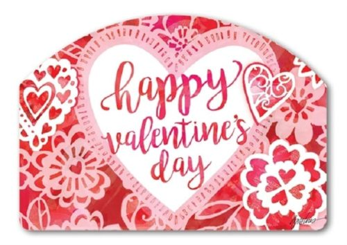 Valentine Lace Yard Sign | Decorative Yard Signs | Garden House Flags