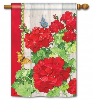 Ladies in Red House Flag | Floral Flags | Spring Flags | Yard Flags | Flags