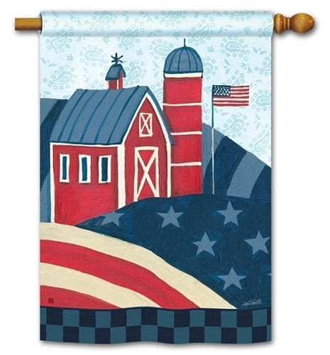 American Barn Flag | House Flag | Decorative Flags | Garden House Flags