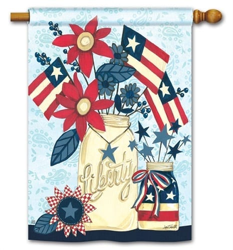 Liberty Flags Flag | House Flags | Decorative Flags | Garden House Flags