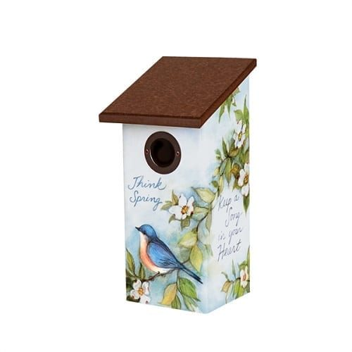 Spread a Little Happiness Birdhouse