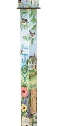 Nest Blessings Birdhouse Art Pole | Birdhouses | Garden House Flags