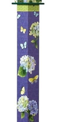 Hydrangea Birdhouse Art Pole | Birdhouses | Garden House Flags