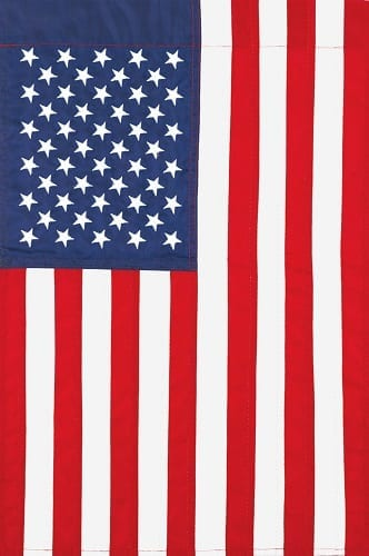 Applique American Flag | Garden Flag | House Flag | Garden House Flags