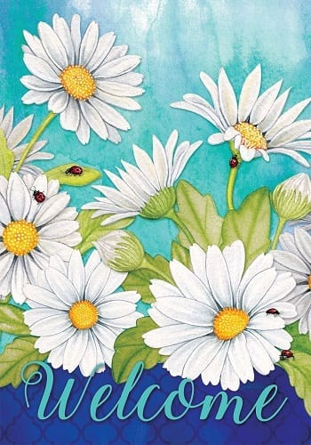 Delightful Daisies Flag | Garden Flags | House Flags | Garden House Flags
