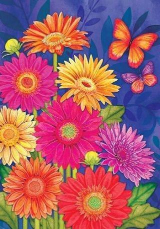 Glorious Gerberas Flag | Spring Flags | Floral Flags | Summer Flags | Flag