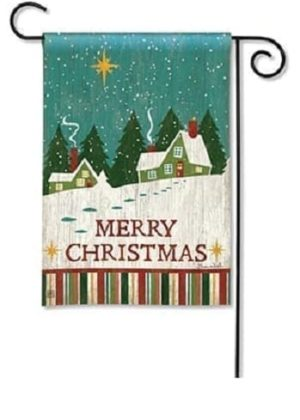 Home For Christmas Flag | Garden Flags | Garden House Flags