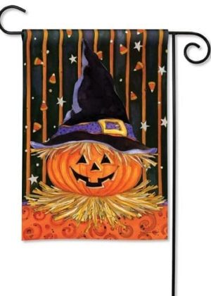 Jack in the Hat Garden Flag | Halloween Flags | Holiday Flags | Fall Flags