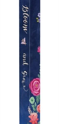 Boho Flowers Art Pole | Art Poles | Garden Decor | Peace Poles | Yard Art