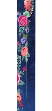 Boho Flowers Art Pole | Art Poles | Garden Decor | Yard Art | Garden House Flag