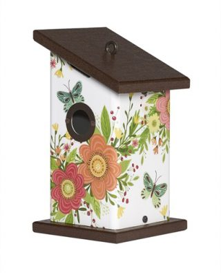 Choose Happy Wren Birdhouse | Birdhouses | Garden House Flags