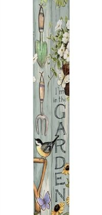 Farmhouse Garden Art Pole | Art Poles | Garden Decor | Garden House Flags