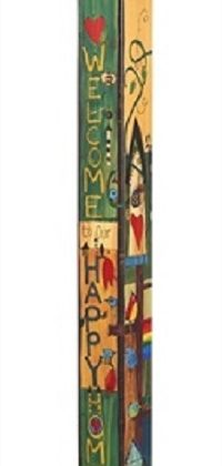 Sing Out Loud Birdhouse Art Pole | Birdhouses | Garden House Flags
