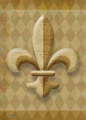 Fleur d'Lis Flag | House Flags | Garden Flags | Flag | Garden House Flags