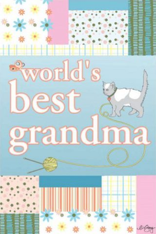 World's Best Grandma House Flag | House Flags | Garden House Flags