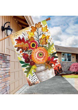 Fall Snippets House Flag | Autumn Flags | Fall Flags | Garden House Flags