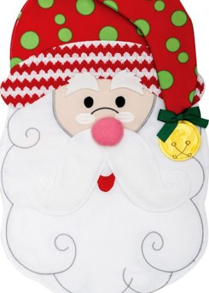 Santa Jingle Flag | Applique Flags | Christmas Flags | Double Sided Flags
