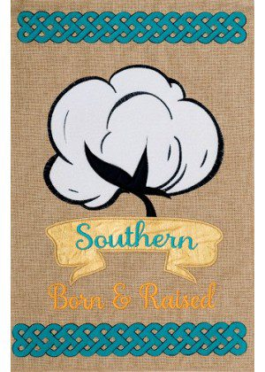 Southern Cotton Flag | Burlap Flags | Cool Flags | Flags | Two Sided Flags