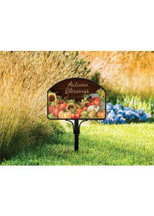 Autumn Scarecrow Yard Sign | Address Plaques | Yard Signs