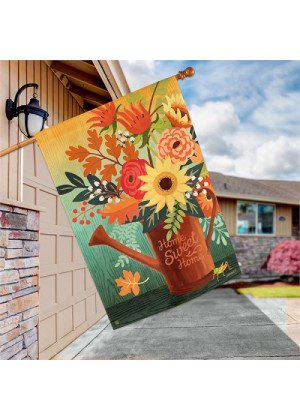 Autumn Sunrise Flag | Decorative Flag | House Flag | Garden House Flags