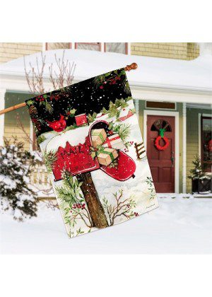 Christmas Delivery House Flag | Christmas Flags | Yard Flags | Cool Flags