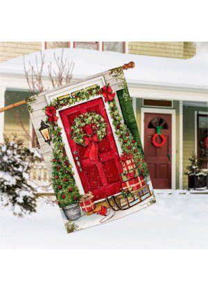 Christmas Wishes House Flag | Christmas Flags | Yard Flags | Cool Flags